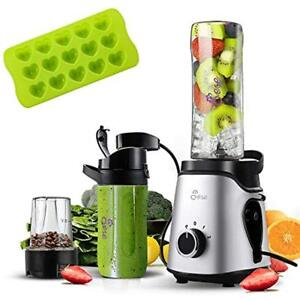 Small Blender Personal Smoothie Blender With Unique Vacuum Function 2 In 1 Singl