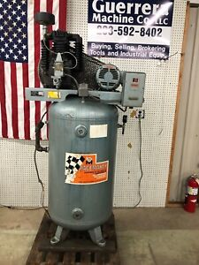 Pacemaker Model T35 5 hp Vertical Air Compressor