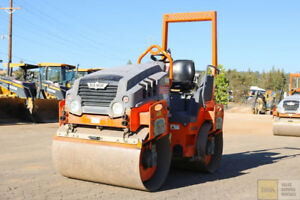 2013 Hamm Hd12 48 5 Ton Smooth Drum Roller Compactor 700hrs Tier 4