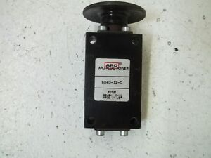 Aro 5040 12 g Manual Air Control Valve used