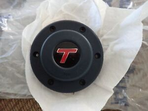 Nos Gm Buick Grand National Turbo Regal T Type Turbo T Horn Button Blue Oem