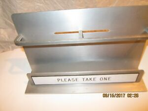 Brochure Booth Rack Made Of Aluminum Made In Usa