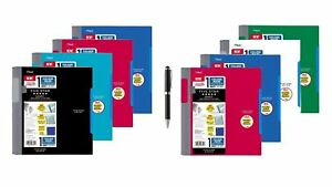 Five Star Advance Spiral Notebook standard Size One Subject 100 College New