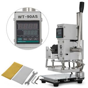 8 10cm Digital Hot Foil Stamping Machine 110v Manual Bronzing Machine