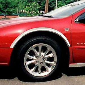 For Chrysler 300m 1999 2004 Saa Polished Replacement Fender Trim