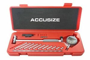 Accusize Tools 2 6 X 0 0005 Digital Bore Gage Stem Length 6 Ee20 5 New