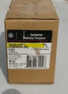 General Electric Cr453ad3aaa Definite Purpose Contactor