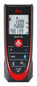 Leica Disto D2 New 100m 330ft Metric Imperial Laser Distance Measure With