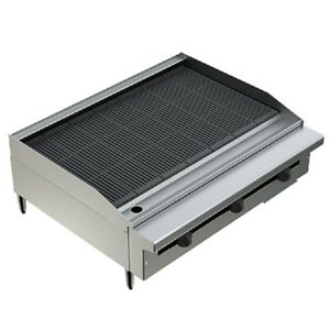 Pantin 36 Heavy Duty Countertop Gas Radiant Grill Charbroiler Nsf Mea Pcb 36