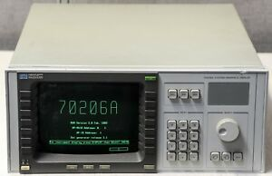 Hp Agilent 70206a System Graphics Display