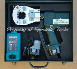 Greenlee Gator Ek06ft Battery Hydraulic Dieless 4 Point Crimper Crimping Tool