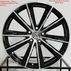 4 New 18 Wheels For Audi A3 A6 A8 S6 2007 2008 2009 2010 2011 2012 Rims 5201