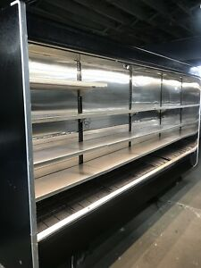 Hussmann 12 Feet Remote Unit No Motor Open Merchandiser Dairy meat Case 2014