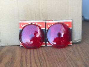 Vintage Classic Lynx Eye Stop And Tail Lamp Lenses 1937 38 Plymouth Dodge T 361