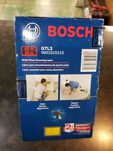 Bosch Gtl3 Wall floor Covering Laser New