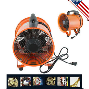 10 Extractor Fan Blower Ventilator Portable High Rotation Exhaust Easy carry Us