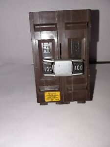 Wadsworth A2100 Type A 2 Pole 100 Amp 120 240 Circuit Breaker