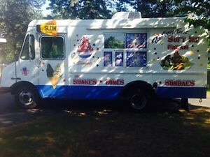 Soft Ice Cream Truck Priced To Sell