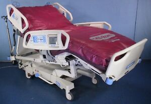 Hill rom New Style Totalcare Sport 2 Critical Care Hospital Bed Touch Screen