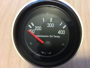 Vdo 310 550 Trans Transmission Oil Temp Temperature Guage 250 400 Cockpit Vision