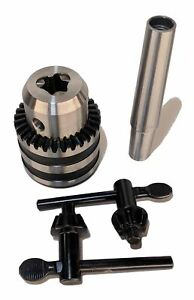 Einstein Tool Co 1 2 Jt33 Drill Chuck 2 Mt Arbor mount For Lathes And Drill