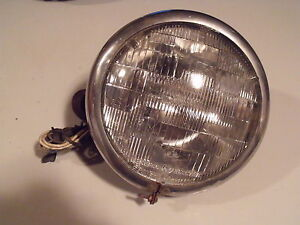 Vintage 1930 s General Electric Sealed Beam Headlight