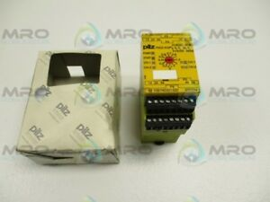 Pilz Pnozxv3p3 24vdc3n o2n ot Safety Relay 777512 new In Box