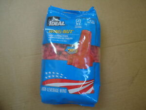 Ideal 452 Red Wing nut Wire Connectors Bag Of 500