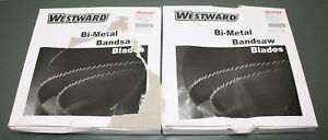 2 Westward Bimetal Band Saw Blade 46tx60 93 X 1 2 M42 14 Raker 7 9