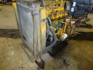 Perkins 4 236t Turbo Diesel Engine Rare Video 4 236t Jcb Cat 3054 3 9