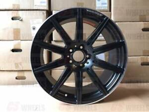 19 Mercedes Benz Amg Black E63s Rims Wheels Cls Class Cls500 Cls550 Cls55 Cls63