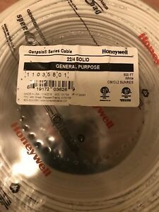 Brand New 22 4 Honeywell Power Wire Cable Lynx 3000 5000 5200 7000 Vista 500ft