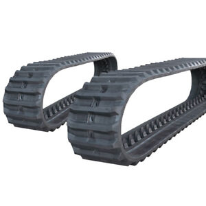 Pair Of Prowler Hanix S b30 Rubber Tracks 420x100x54 17