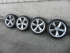 Audi S5 S4 A5 A4 19 Inch Oem Wheels Rims Tires Continental
