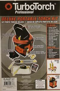 Turbotorch Deluxe Portable Torch Kit 0386 1397