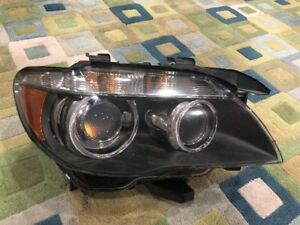 06 08 Bmw 750i Passenger Right Hella Xenon Hid Headlight Light Lamp Oem