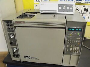 Hp Gc 5890 Gas Chromatograph Dual Fid Epc Agilent 35900e Chromatography Lab
