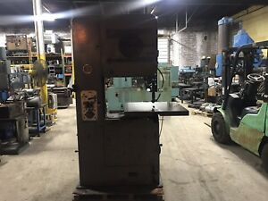 Doall 26 Vertical Band Saw 30 1 2 Table