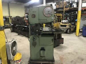 Doall Vertical Band Saw 27 X 34 table