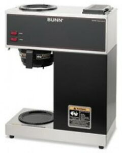 Bunvpr Bunn Coffee Pour o matic Two burner Pour over Coffee Brewer