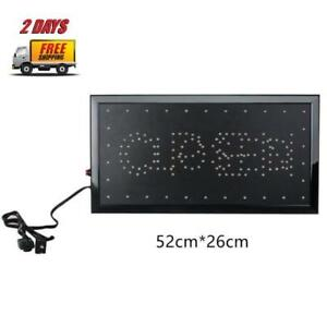 Ultra Bright Led 2 In 1 Open Closed Sign Fast 2 Days Free Shipping