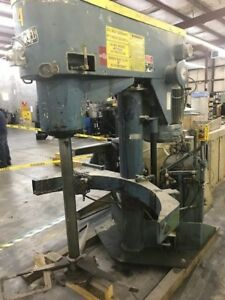 60 Hp Schold High Speed Disperser With Sweep Blade Co axial Design