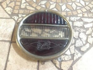 1920 s Buick Early Stop Tail Light Glass Lenses Bezel Vintage Auto Car Old