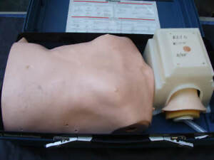 Laerdal Resusci Anne Adult Torso Cpr Training Medical Manikin With Case
