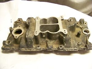 Weiand Intake Sbc Chevy 383 350 327 Hot Rod Rat Small Block 400 8004