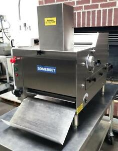 Somerset Cdr 170 Bakery Kitchen Equipment Compact Table Top Bread Moulder Roller
