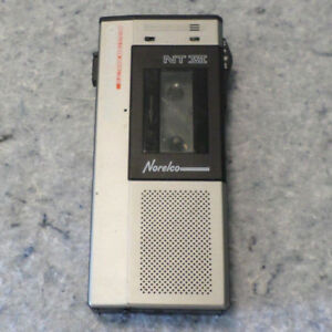 Vintage 1980 s Norelco Nt Vi Pocket Memo Executive Microcasette Recorder c9b2