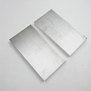 75 Thick 6061 Aluminum Plate 5 75 X 11 875 Long Qty 2 Flat Stock Sku159302