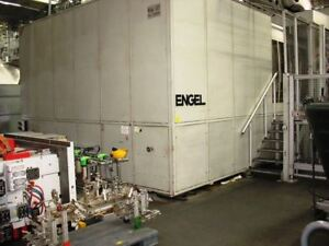 1998 Engel Es 23050 3800 Ton Duo Injection Molding Machine