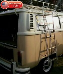 Vw Bus Side Ladder Chrome Splitscreen Baywindow Kombi Transporter T2 Westfalia